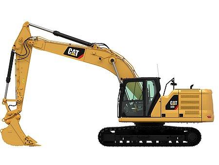 Bagger CAT 320