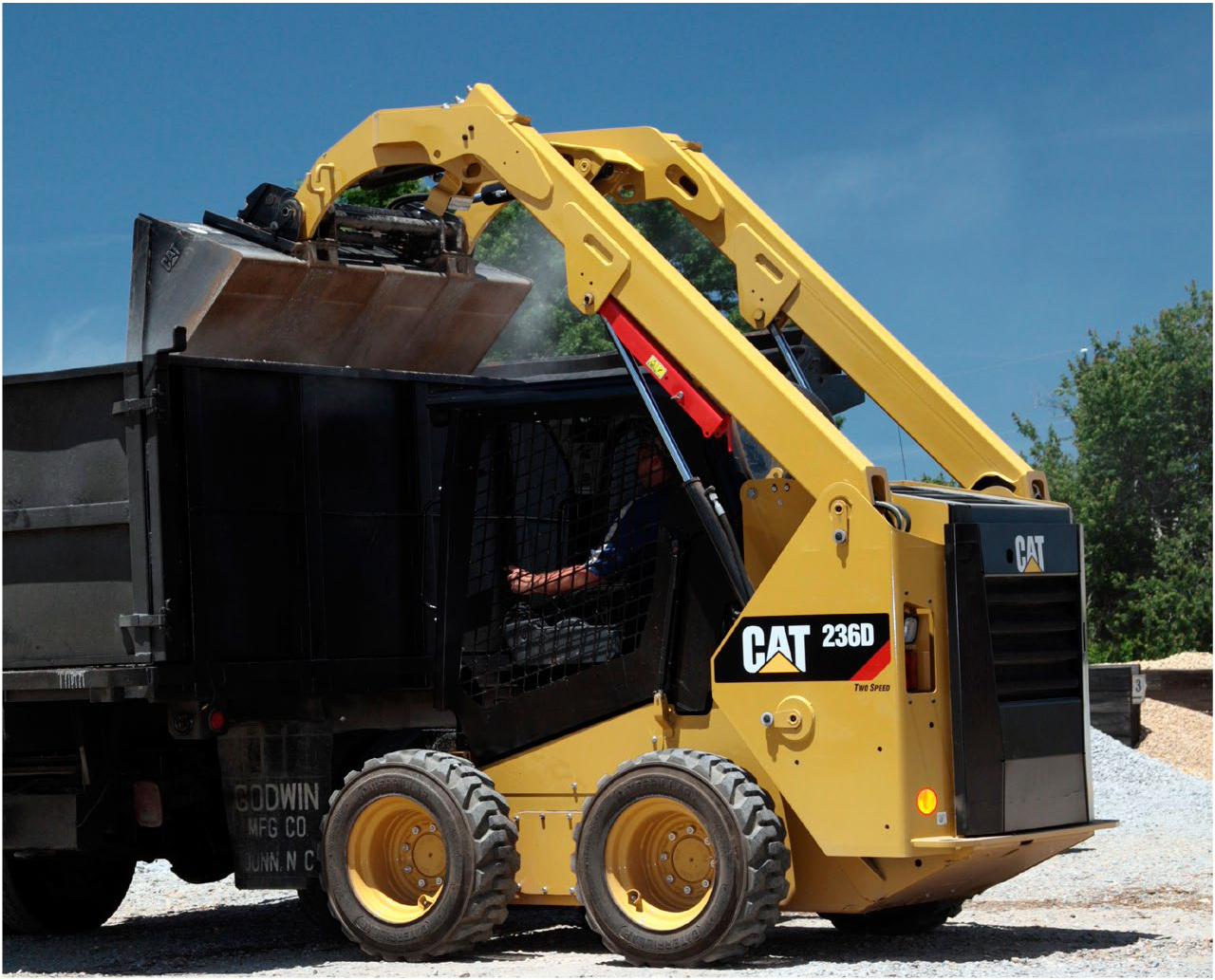 Lader CAT 242D
