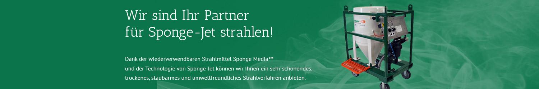 Strahlanlage - Kunststoff Sponge Jet